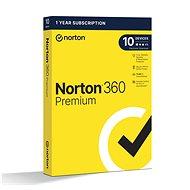 Norton 360 Premium 75GB CZ, 1 felhasználó, 10 készülék, 12 hónap (elektronikus licenc) - Internet Security