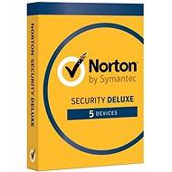Norton Security Deluxe CZ 1 felhasználó 5 eszközre 2 évig (elektronikus licenc) - Internet Security