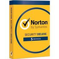 Symantec Norton Security Deluxe 3.0 CZ, 1 felhasználó, 5 készülék, 12 hónap (digitális jogosultság) - Elektronikus licensz