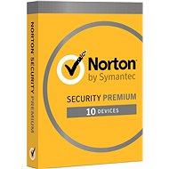 Norton Security Premium CZ, 1 felhasználó, 10 eszköz, 3 év (elektronikus licenc) - Internet Security
