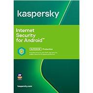 Kaspersky Internet Security for Android Előfizetés 1 mobil eszközre, 12 hónapos előfizetés, digitális licensz - Biztonsági szoftver