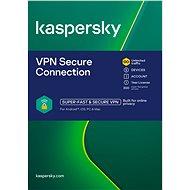 Kaspersky VPN Secure Connection 5 készülékhez 12 hónapra (elektronikus licenc) - Internet Security