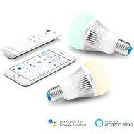 WiZ Wi-Fi E27 WZ0126082 okosizzó, 2 db, távirányítóval - LED izzó