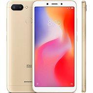Xiaomi Redmi 6 32GB LTE arany - Mobiltelefon