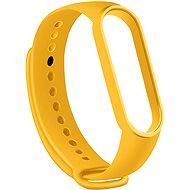 Apei Xiaomi Mi Band 5-höz - sárga - Szíj