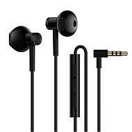 Xiaomi Mi Dual Driver Earphones fekete - Fej-/fülhallgató