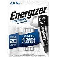 Eldobható elem Energizer Ultimate Lithium AAA / 2 - Jednorázová baterie