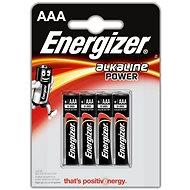 Eldobható elem Energizer Alkaline Power AAA/4 - Jednorázová baterie