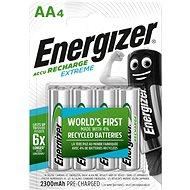 Akkumulátor Energizer NiMH Extreme HR6 AA 2300mAh, 4 db - Nabíjecí baterie