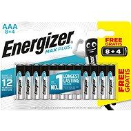 Energizer MAX Plus AAA 8 + 4 db ingyen - Eldobható elem