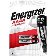 Energizer AAAA Speciális alkáli elem (E96/25A) 2 db - Eldobható elem