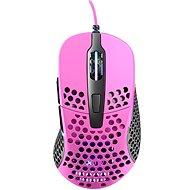 XTRFY Gaming Mouse M4 RGB, rózsaszín - Gamer egér