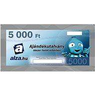 Ajándékutalvány Alza.hu 5000 Ft értékű áru vásárlására - Utalvány