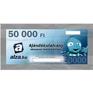 Ajándékutalvány Alza.hu 50000 Ft értékű áru vásárlására - Utalvány