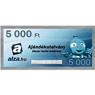 Elektronikus Alza.hu ajándékutalvány 5000 Ft értékben - Utalvány