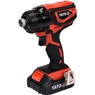 YATO Akkumulátoros ütvecsavarbehajtó 18V 160Nm 2.0Ah - Ütvecsavarozó