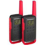 Motorola TLKR T62, piros - Adó-vevő