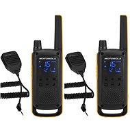 Motorola TLKR T82 Extreme, RSM Pack, Sárga / Fekete