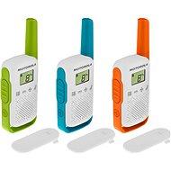 Motorola TLKR T42, Triple Pack - Walkie Talkie