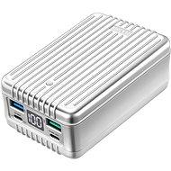 Zendure SuperTank - 27000mAh 100W zúzásbiztos hordozható töltő (ezüst) - Powerbank