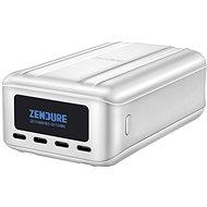 Powerbank Zendure SuperTank Pro 27000mAh 100W Power Bank 4x USB-C, OLED képernyővel (ezüst)
