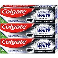 COLGATE Advanced White Charcoal 3 × 75 ml