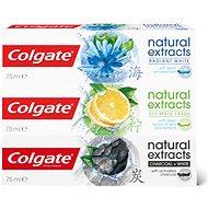 COLGATE Naturals Mix 3 x 75 ml - Fogkrém