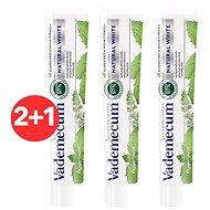 VADEMECUM Natural White 3 × 75 ml - Fogkrém