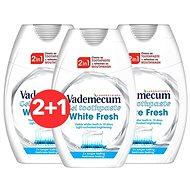 VADEMECUM 2in1 White Fresh 3 × 75 ml - Fogkrém
