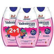 VADEMECUM 2in1 Junior Strawberry 3 × 75 ml - Fogkrém