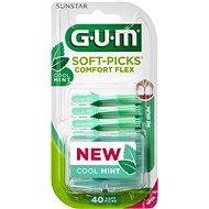 GUM Soft-Picks Regular Comfort Flex Mint, ISO 1, 40 ks - Fogköztisztító kefe
