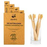 PANDOO bambusz gyermek fogkefe medium soft 4 db - Gyerek fogkefe