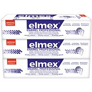 ELMEX Dental Enamel Protection Professional 3 × 75 ml - Fogkrém