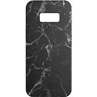 AlzaGuard - Samsung Galaxy S8 - fekete márvány - Mobiltelefon hátlap