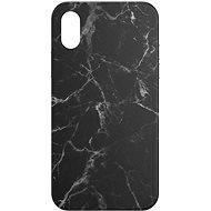 AlzaGuard - Apple iPhone X/XS - Fekete márvány - Mobiltelefon hátlap