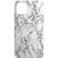AlzaGuard - Apple iPhone 11 - Fehér márvány - Mobiltelefon hátlap