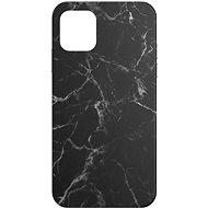 AlzaGuard - Apple iPhone 11 - Fekete márvány - Mobiltelefon hátlap