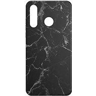 AlzaGuard - Huawei P30 Lite - Fekete márvány - Mobiltelefon hátlap