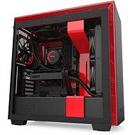 NZXT H710, fekete-piros - Számítógép ház