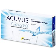 Acuvue Oasys with Hydraclear Plus (6lencse) - Kontaktlencse