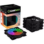 GameMax CL400 Combo (4-pack) - Számítógép ventilátor