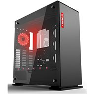 GameMax Vega Black Temp Glass - Számítógépház