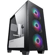 GameMax Aero Mini 3xFAN - Számítógépház