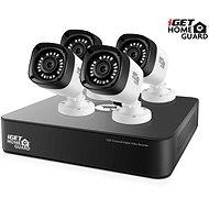 iGET HOMEGUARD HGDVK46704P, 4 csatornás HD DVR + 4x HD720p kamera, IP66, éjszakai látás