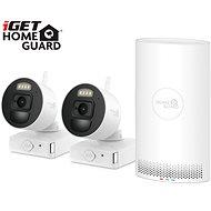iGET HOMEGUARD HGNVK88002P + 2x IP kamera FHD 1080p