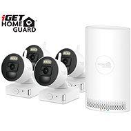 iGET HOMEGUARD HGNVK88004P + 4x IP kamera FHD 1080p - Kamerarendszer