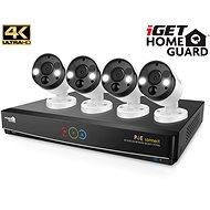 iGET HOMEGUARD HGNVK84904 + 4x HGNVK936CAM - Kamerarendszer