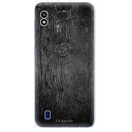 iSaprio Black Wood - Samsung Galaxy A10 készülékhez