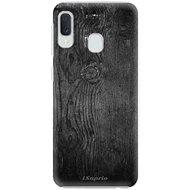 iSaprio Black Wood - Samsung Galaxy A20e készülékhez