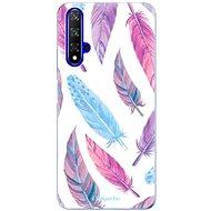 iSaprio Feather Pattern 10 a Honor 20-hoz - Mobiltelefon hátlap